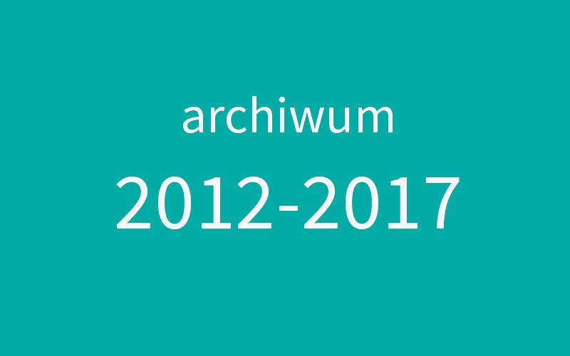 Archiwum 2012 – 2017