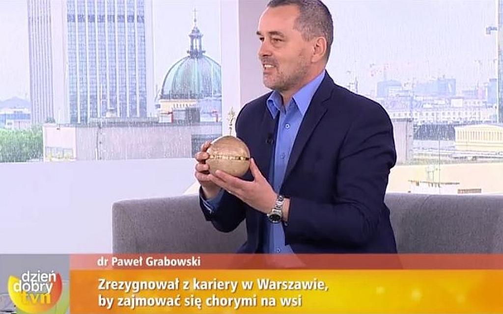 """""""Pozytywka"""" DDTVN dla dr. Pawła Grabowskiego"""