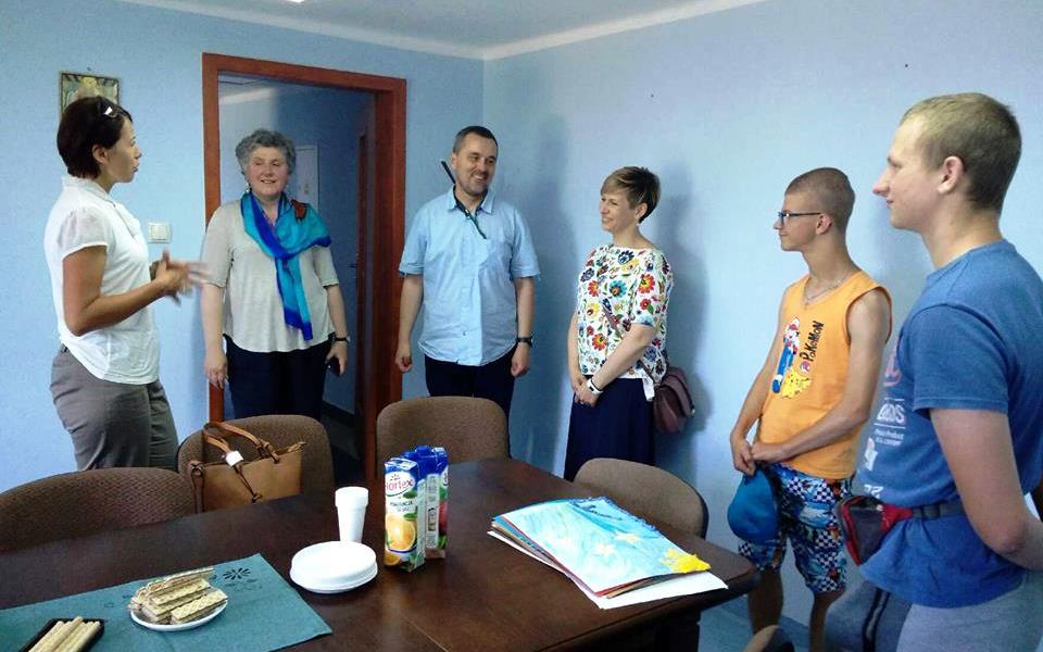 Wizyta wychowanków iopiekunów SOSW wHajnówce