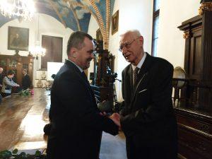 Dr Paweł Grabowski uhonorowany medalem Kazimierza Lewandowskiego