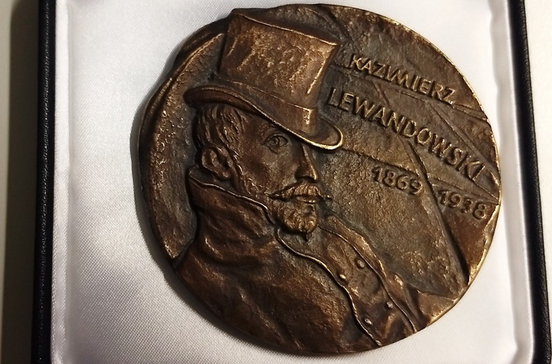 DrPaweł Grabowski uhonorowany medalem Kazimierza Lewandowskiego