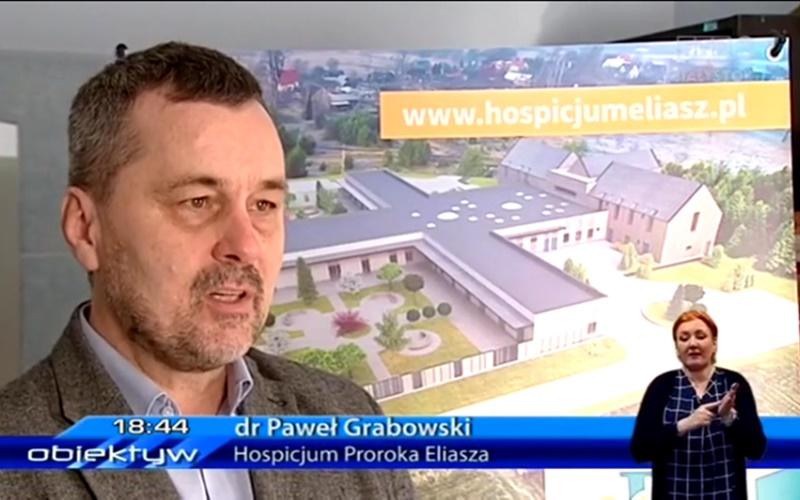 Obudowie hospicjum naantenie TVP3 Białystok