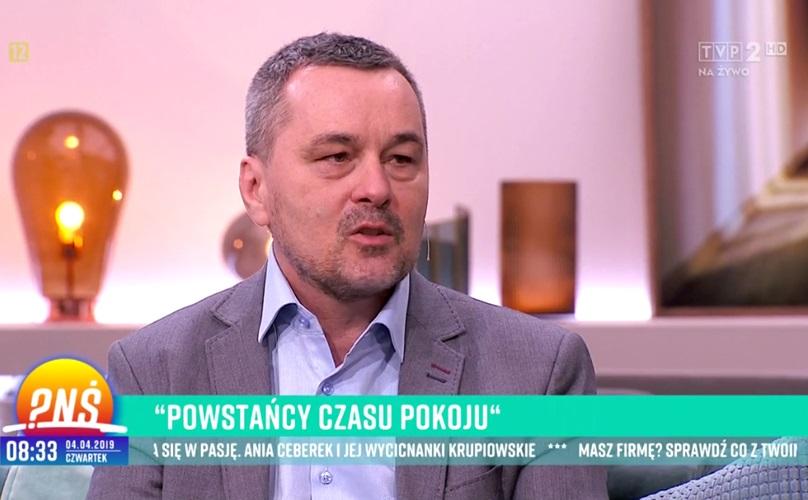 DrPaweł Grabowski gościem wPytaniu naśniadanie