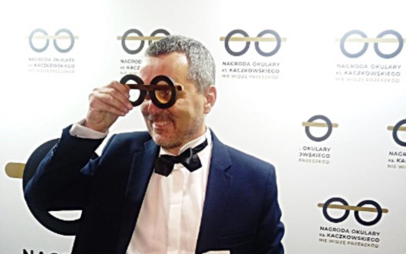 Okulary ks.Kaczkowskiego dla dr. Grabowskiego