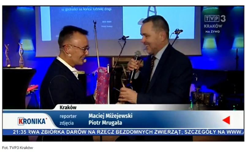 DrPaweł Grabowski laureatem nagrody Fundacji Piotra Pogona Drabina