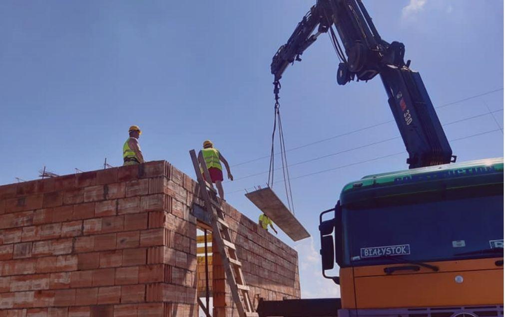 Budowa – kładziemy stropy 🏠